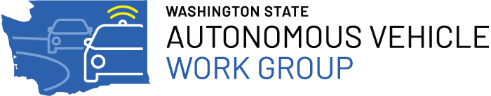 washington state autonomous vehicle work group
